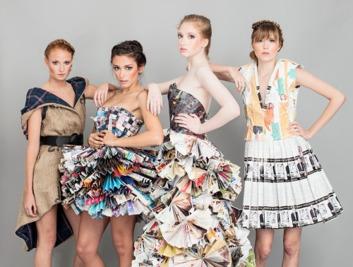A photoshoot with all of my Greentopia Dresses